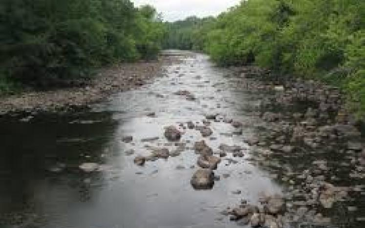 moderate river drought photo
